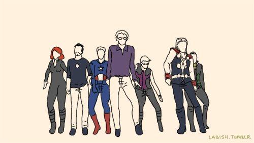The Avengers Bad Romance dance