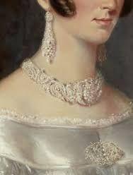 Maurice Felton, portrait of mrs Alexander Spark, ca 1840: