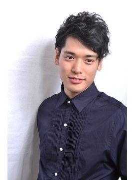メンズ 髪型:メンズ 髪型 モデル-jp.pinterest.com