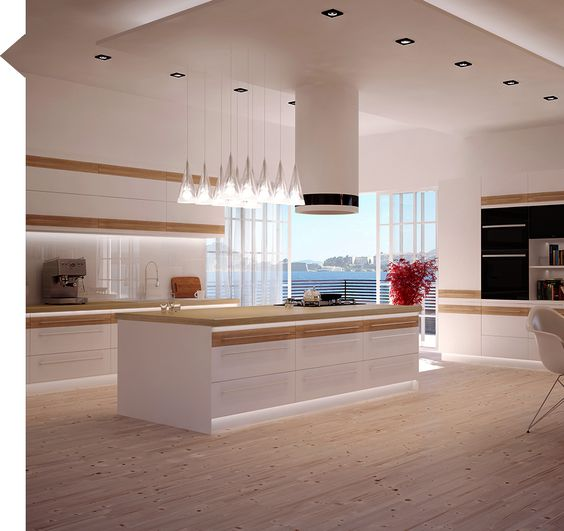 Inspirujace Projekty Kuchni W Macie Nowoczesne Kuchnie Projekty Forum Meble Kuchenne Kuchnie Modern Kitchen Layout Kitchen Design Styles Kitchen Layout