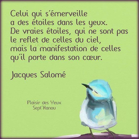 Jacques SALOMÉ: