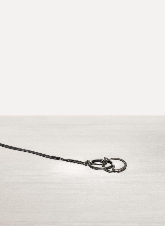 Silver Fine Chain Spring Ring - Werkstatt:München