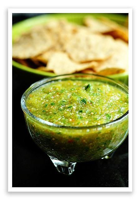 Green Salsa... Yummy!!