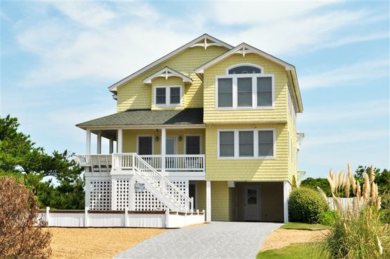 El Sueno Atlantic Realty Nc South Nags Head Oceanfront 5 Bedrooms Turn Day Saturday Sleeps 12 View Prop House Rental Outer Banks Vacation Rentals House