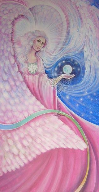 Angel At My Window by Pamela Matthews