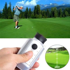 Determine the distance to the hole with this laser golf range finder! 51% Off - $31 with FREE shipping! #HalfOffDeals #GolfRangeFinder #GolfAccessories #Golf