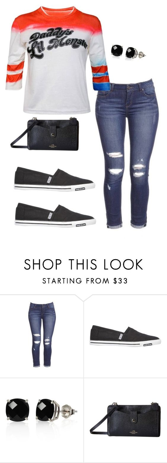 """""""Daddy's Lil Monster"""" by annamatrix ❤ liked on Polyvore featuring Skechers, Belk & Co. and Coach"""
