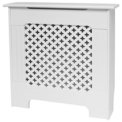Roost Extra Small White Radiator Cover Cabinet Home Radiators