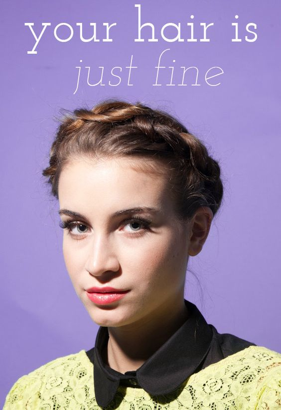 tips for styling fine hair!