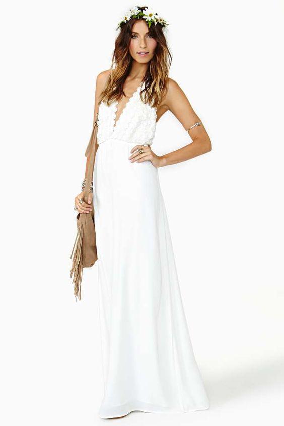 Size 4 maxi dress engagement