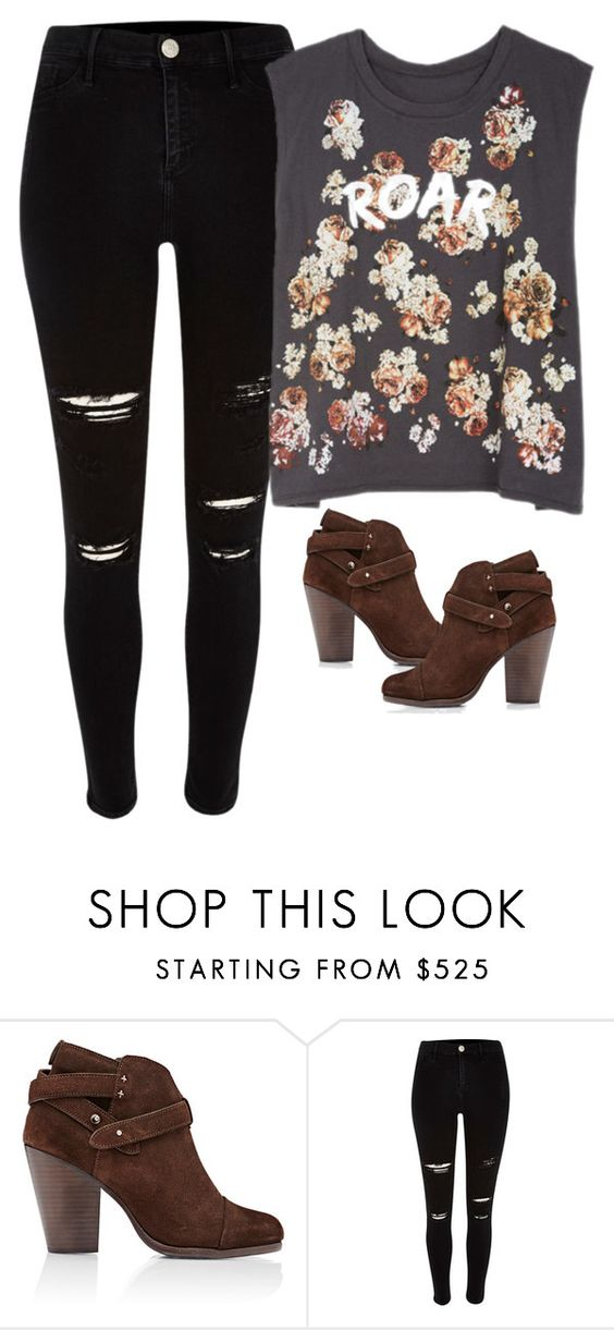 """Sin título #3890"" by xoxominyeol ❤ liked on Polyvore featuring rag & bone"