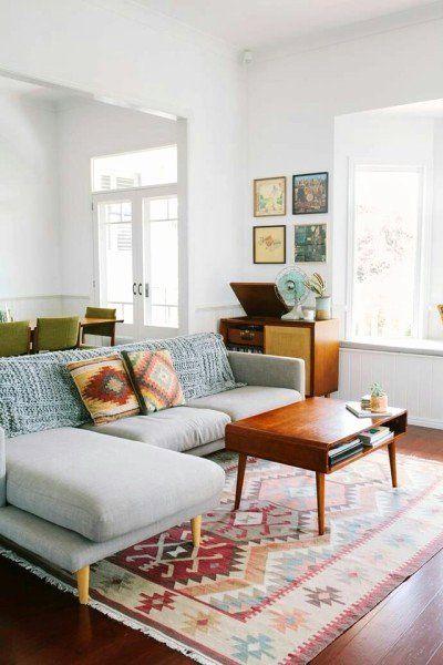 Danish Vintage Interior Design Beautiful Vintage Scandinavian Decor In 2020 Living Room Design Modern Rugs In Living Room Mid Century Modern Living Room Design