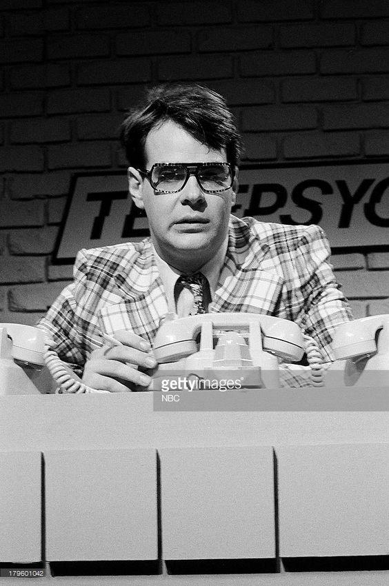 Dan Aykroyd as Ray during the 'Telepsychic' skit on December 9, 1978 --