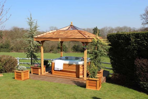 Squares Gazebo And Cedar Wood On Pinterest