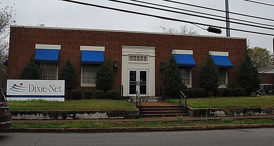 Old US Post Office-Ripley in Tippah County, Mississippi.