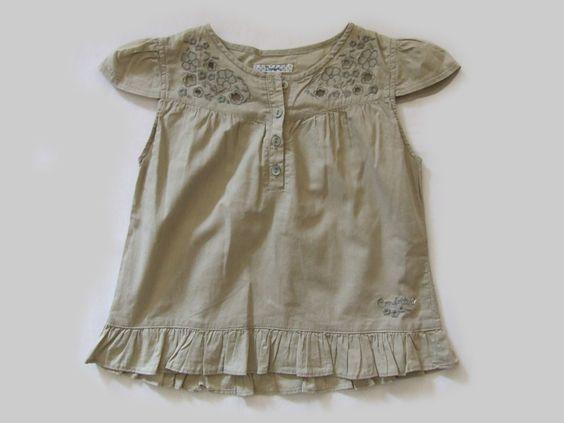 Ref. 1100794- Camisa - Confetti- niña - Talla 3 años - 6€ - info@miihi.com - Tel. 651121480