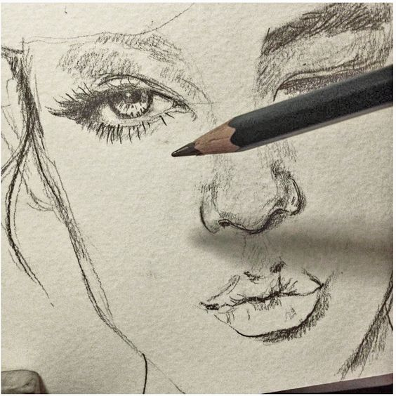 Sketchbooks sketch drawing and be creative on pinterest for How to make creative drawings