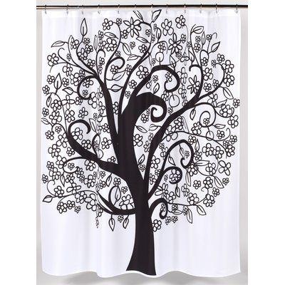 Ben And Jonah Tree Of Life Single Shower Curtain Modern Shower