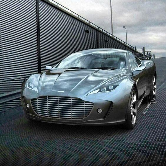 Visit The MACHINE Shop Café... ❤ The Best of Aston Martin... ❤ (Aston Martin Guantlet Coupé)