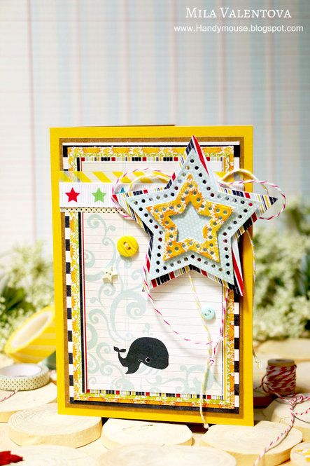 Valentova Liudmila's Gallery: American birthday card.