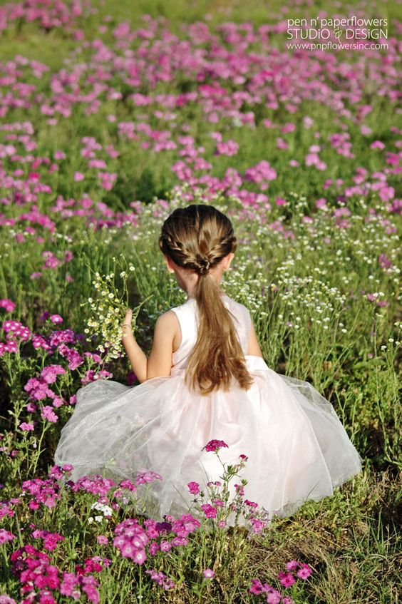 Flower girl /Born in May !: