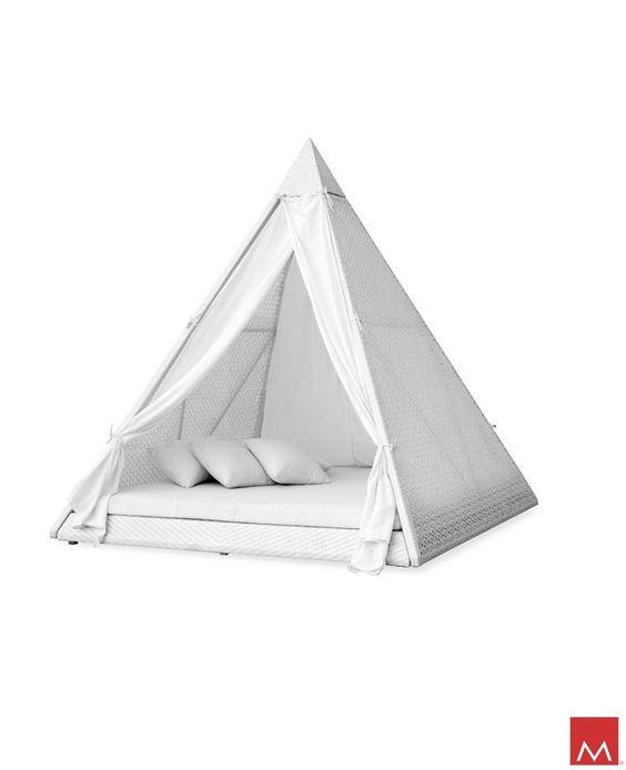 Ferrat Pyramid Daybed.