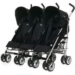 Lightweight Triple Stroller | Triplets and Strollers
