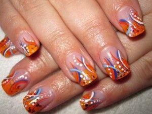 Carnavals nagels ~ Stap voor stap! on http://www.beautynailsfun.nl/2012/02/carnavals-nagels-stap-voor-stap/