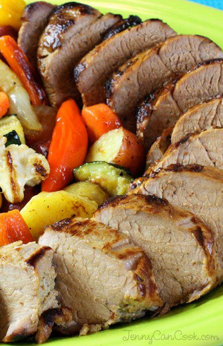 Pork tenderloins, Pork and Dinner on Pinterest