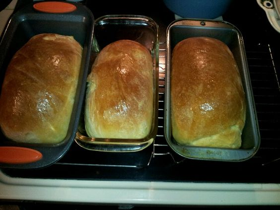 Home Made Sour Dough Bread Using A Potato Flake Starter