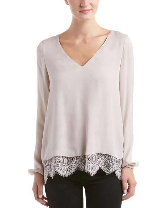 You need to see this Parker Rosedale Combo Silk Top on Rue La La.  Get in and shop (quickly!): http://www.ruelala.com/boutique/product/96912/27585662?inv=yfdezxif&aid=6191