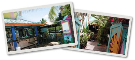 Mamacita's Guest House is apparently the place to eat dinner out while on Culebra.