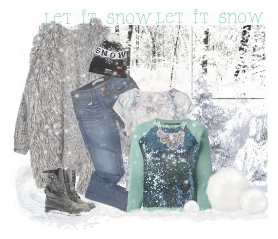 """snow.dayz"" by twosisterzcreationz ❤ liked on Polyvore featuring J Brand, Ted Baker, Marc by Marc Jacobs, Rocio and Breezy Excursion"