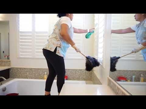 Limpiando Casa Grande Mi Trabajo Light Cleaning Limpieza Ligera
