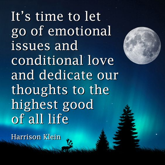It is time for unconditional love