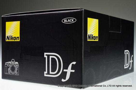 NIKON DF 16.2MP Digital Camera Body 18215 shutter Excellent+ #Nikon