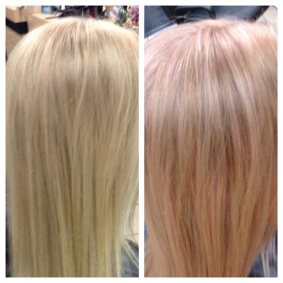 My Client Who I Heavy Highlight To Be Very Blonde Wanted A Light