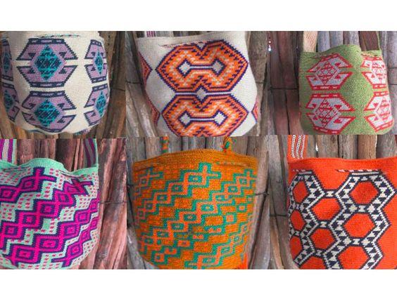 Etnia Wayuu 100% a mano y de la mejor calidad. Solicítalas ya sin costo de envío para  Valledupar Comunidad365 SocialShopping Vitrina365 Mochilas365 Etnia Provincia
