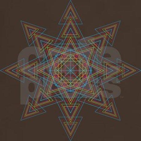 Triangle Mandala T-Shirt