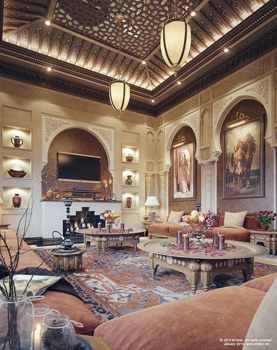 oriental majlis villa sheikh nawaf alkhalifa  qatar  ara