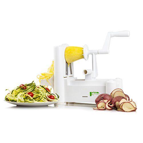 Food And Vegetable Spiralizer Mandoline Slicer 5 Blade S Https Www Amazon Com Dp B07757xhtl Ref Cm Sw R Spiralized Vegetables Mandolin Slicer Spiralizer