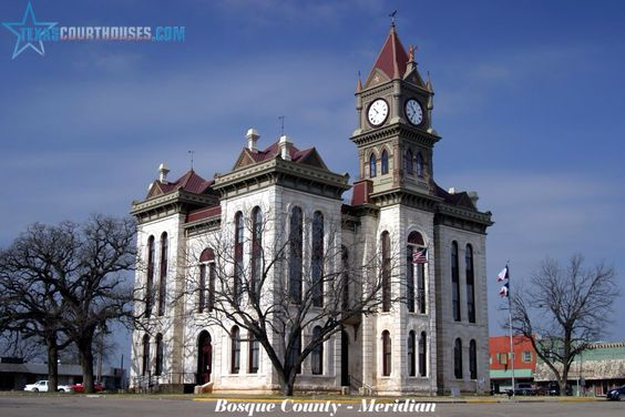 Meridian, TX Courthouse