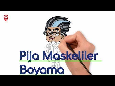 Pijamaskeliler Romeo Boyama Ve Cizim Sayfasi Cocuklar Icin Nasil