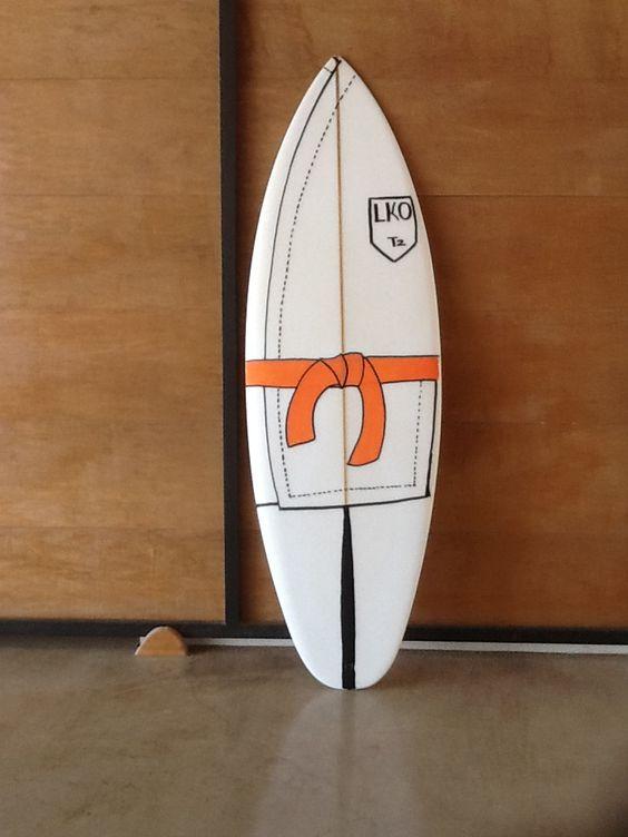 """Lko surf board. 4""""7' 18'"""