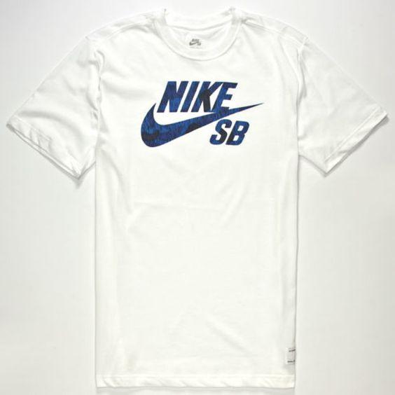 Nike Sb Icon Marsh Dri-Fit Mens T-Shirt White  In Sizes
