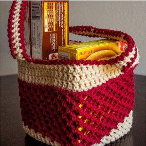 Netted Summer Crochet Tote | AllFreeCrochet.com