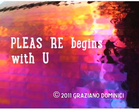 Pleasure begins with U © 2011 Graziano Dominici  #dominantspace #pleasure
