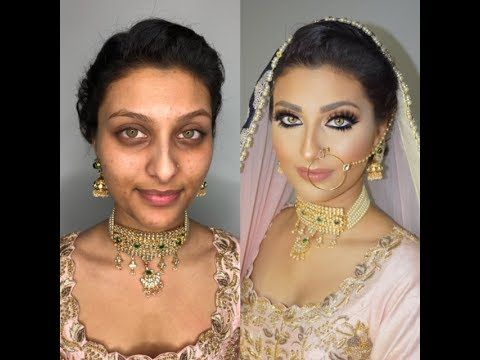 Indian Bollywood South Asian Bridal Makeup Start To Finish
