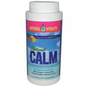 Natural Vitality Natural Calm Raspberry Lemon 16oz: Amazon.com: Grocery & Gourmet Food