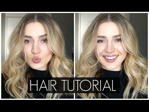 SOFT & VOLUMINOUS CURLS HAIR TUTORIAL - YouTube